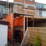 6 - Aanbouw metselwerk